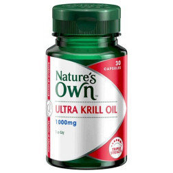 Nature's Own Ultra Krill Oil 1000MG 30 Capsules