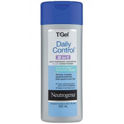 Neutrogena T-Gel Daily Control 2 In 1 Dandruff Shampoo Plus Conditioner 200ML