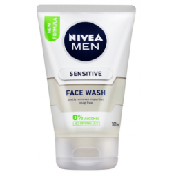 Nivea Men Sensitive Face Wash 100mL