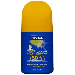 Nivea Sun Kids SPF 50 Caring Roll On Sun Lotion 65ml