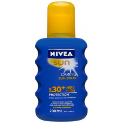 Nivea Sun SPF 30+ Caring Sun Spray 200ml
