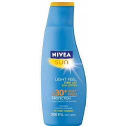 Nivea Sun SPF 30+ Light Feel Every Day Sun Lotion 200ml