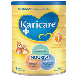 Nutricia Karicare Plus 1 Infant Formula 900g