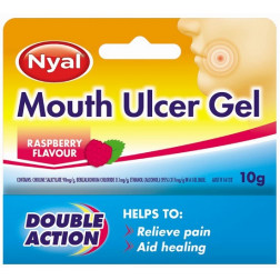 Nyal Mouth Ulcer Gel 10g Raspberry