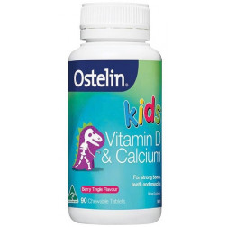 Ostelin  Kids Vitamin D & Calcium Chewable 90 Tablets