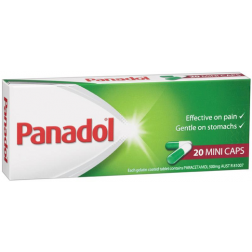 Panadol Mini Caps 20 Caps