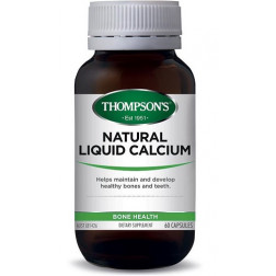 Thompsons Natural Liquid Calcium 60 capsules