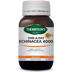 Thompsons One-A-Day Echinacea 4000mg 60 tablets