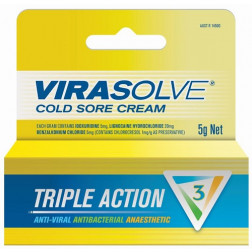 Virasolve Cold Sore Cream 5g