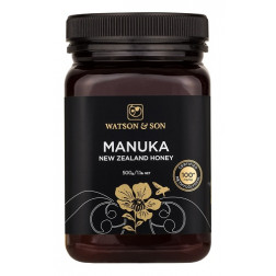 Watson & Son Manuka New Zealand Honey MGO 100+ 500G