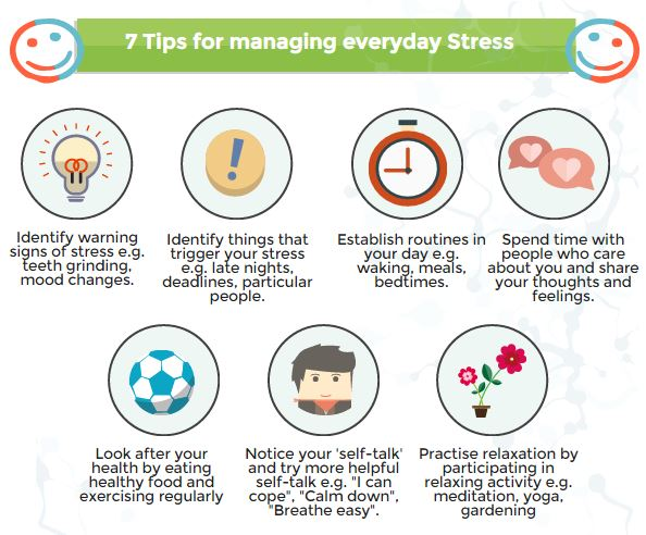 7 tips for managing everyday stress