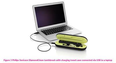 Philips DiamondClean toothbrush with travel case charger