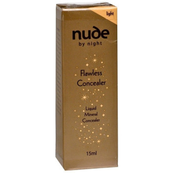 Nude by Nature Flawless Liquid Mineral Concealer Light 15ml