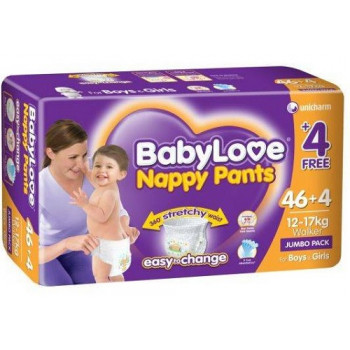 BabyLove Nappy Pants Walker Jumbo Pack 50