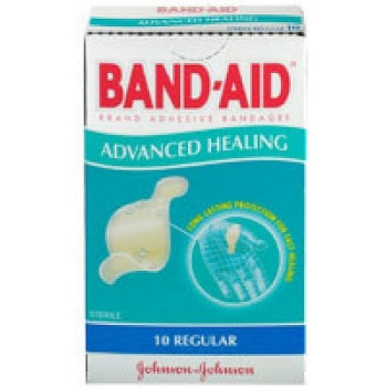 Band-Aid Advanced Healing Bandages Regular 10 Pack