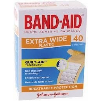 Band-Aid Extra Wide 40