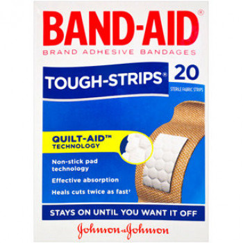 Band-Aid Tough Strips Reg