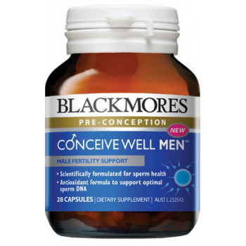 Blackmores Conceive Well Men 28 Capsules