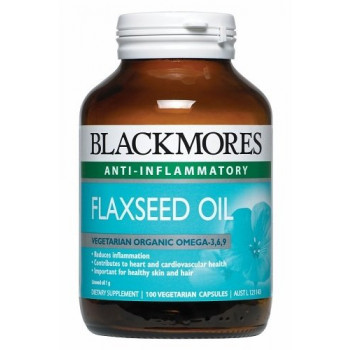 Blackmores FLAXSEED Oil 1000 Capx100