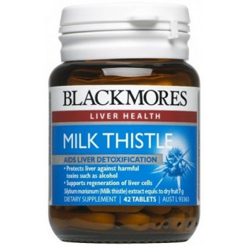 Blackmores Milk Thistle Tabx42