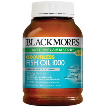 Blackmores Odourless Fish Oil 1000mg 400 Capsules