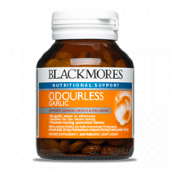 Blackmores Odourless Garlic 200 Tabs