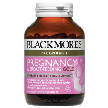 Blackmores Pregnancy and Breast-Feeding Gold 120 Caps