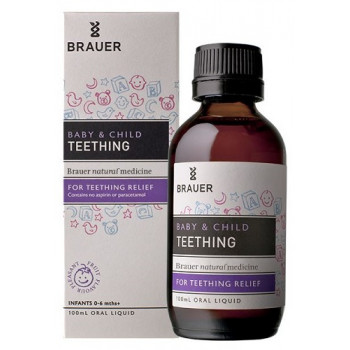Brauer Baby & Child Teething Relief Oral Liquid 100mL