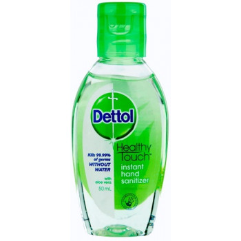 Dettol Instant Hand Sanitizer Soothe with Aloe 50mL