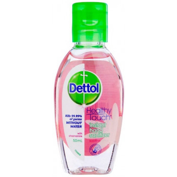 Dettol Instant Hand Sanitizer Soothe with Chamomile 50mL
