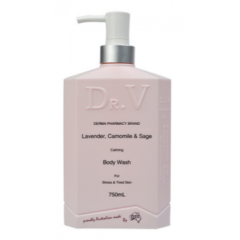 Dr. V Lavender, Camomile & Sage Body Wash 750ml