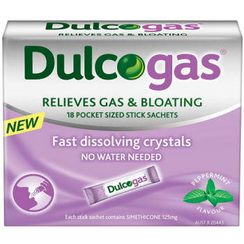 Dulcogas For Gas and Bloating sachet X 18