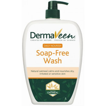 DermaVeen Daily Nourish Soap Free Wash 1L