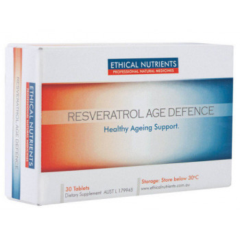 Ethical Nutrients Resveratrol Age Defence 30Tabs