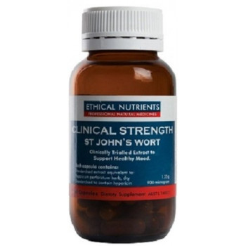 ETHICAL NUTRIENTS CLINICAL STRENGTH ST JOHN'S WORT 60 CAPS
