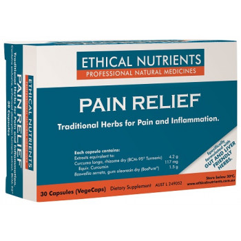Ethical Nutrients Herbal Pain Relief 30 Capsules