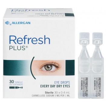 Refresh Plus 0.4Mlx30 Single Vials