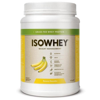 Isowhey Complete Banana Smoothie 672g (21 Serves)