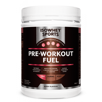 Isowhey Sports Pre-Workout Fuel 500g