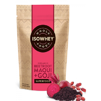 Isowhey Wholefoods Beetroot Maqui Superfood Powder 70g