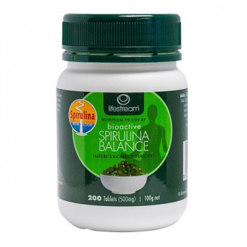 Lifestream Bioactive Spirulina Balance 500mg 200 Tabs