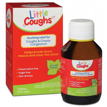 Little Coughs Ivy Leaf Extract Oral Liquid 200mL