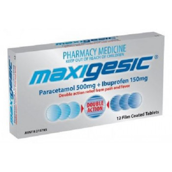 Maxigesic 12 Tablets