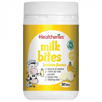 Healtheries Milk Bites Banana Flavour 190g