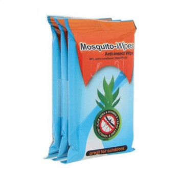 Mosquito-Wipes (3 x 10 Wipes)