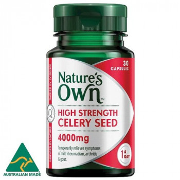 Nature's Own High Strength Celery Seed 4000mg x 30 Capsules