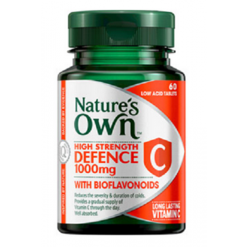 Nature's Own High Strength Defence C 60 Tablets