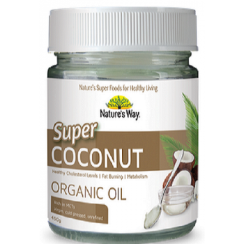 Nature's Way Super Coconut Organic Oil 450g