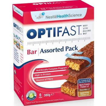 Optifast VLCD Assorted Bars 6 Pack
