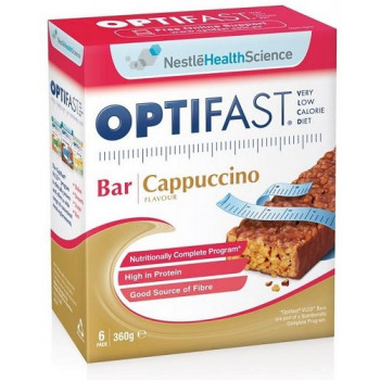 Optifast VLCD Cappuccino Flavour Bar 6x60g
